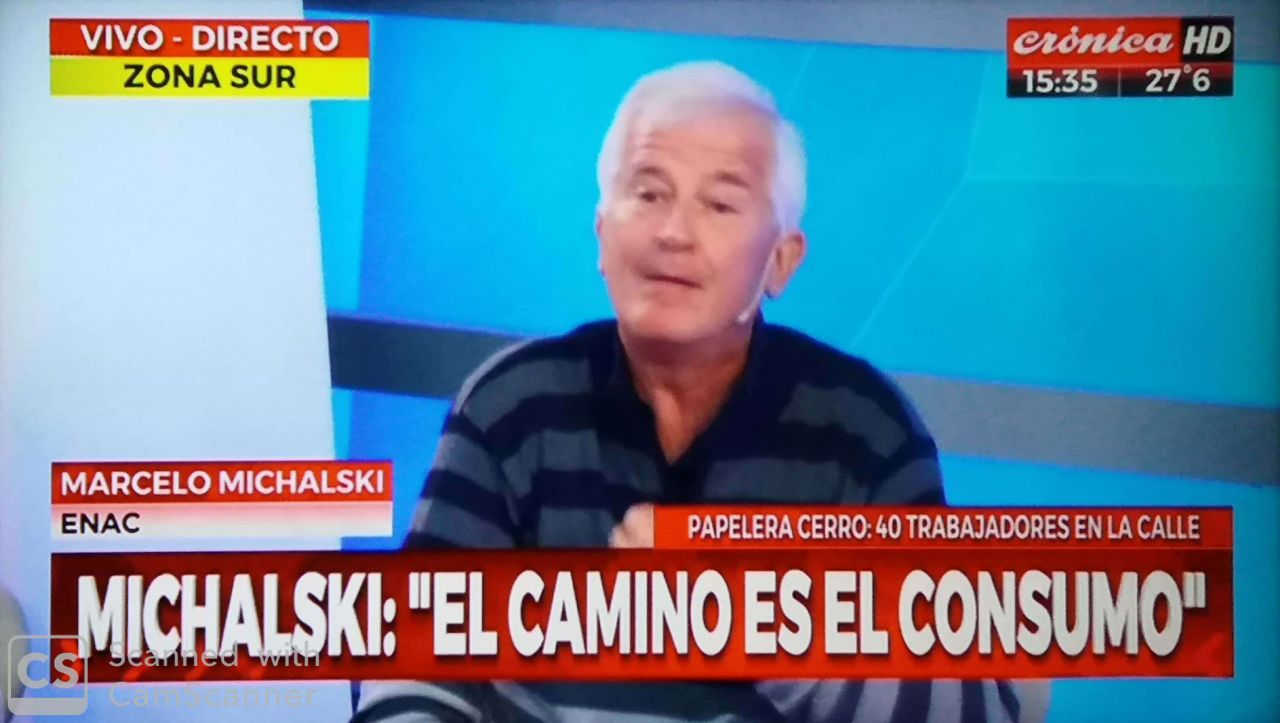 Marcelo Michalski en Crónica TV