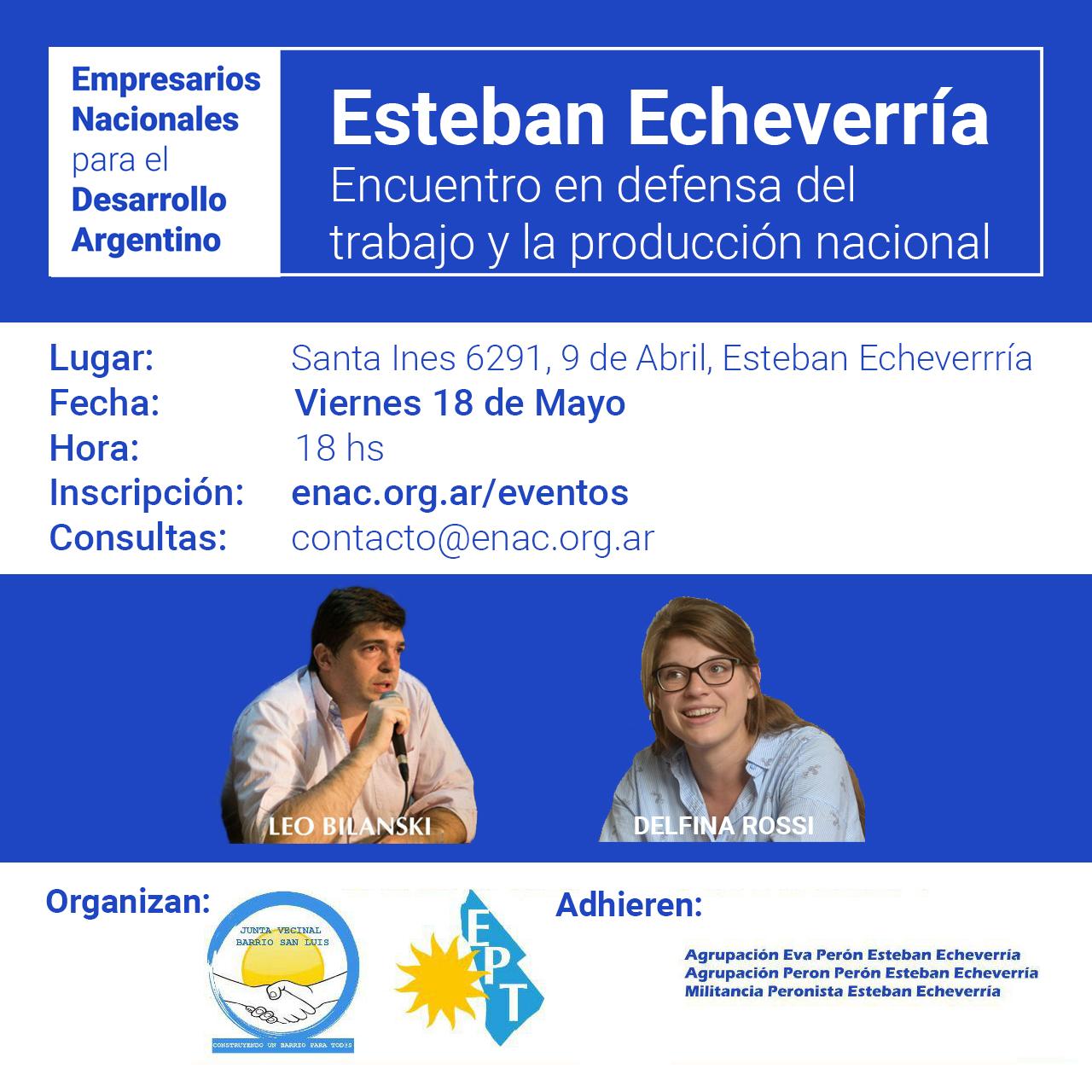 20180518 - EENN Esteban Echeverría