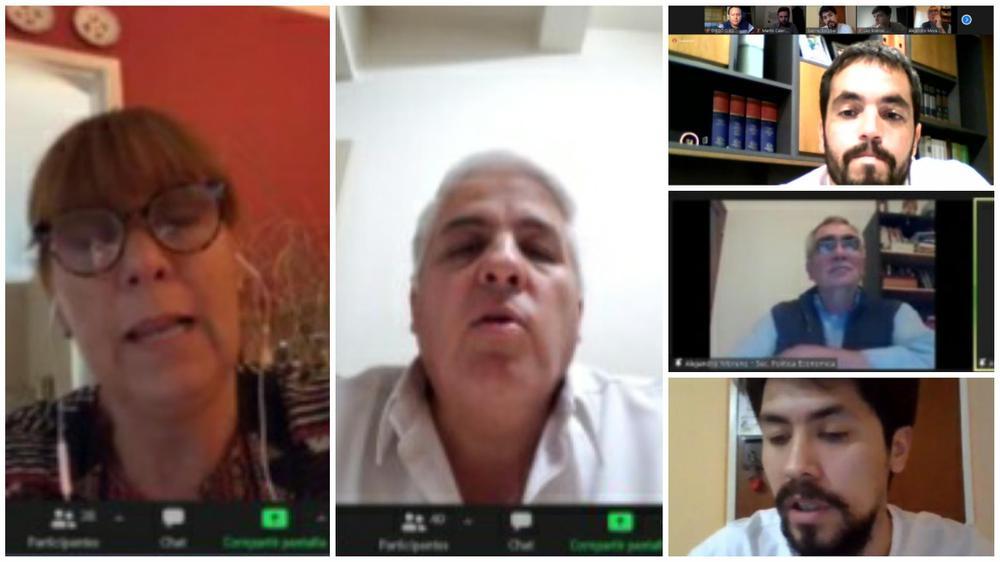 Encuentro de empresario y empresarias nacionales de san juan . Andres Díaz Cano